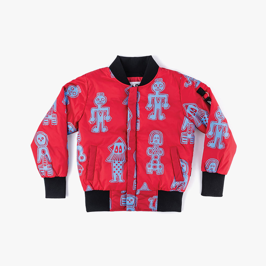 ALL OVER TRIBAL DANCERS BOMBER JACKET (kids)
