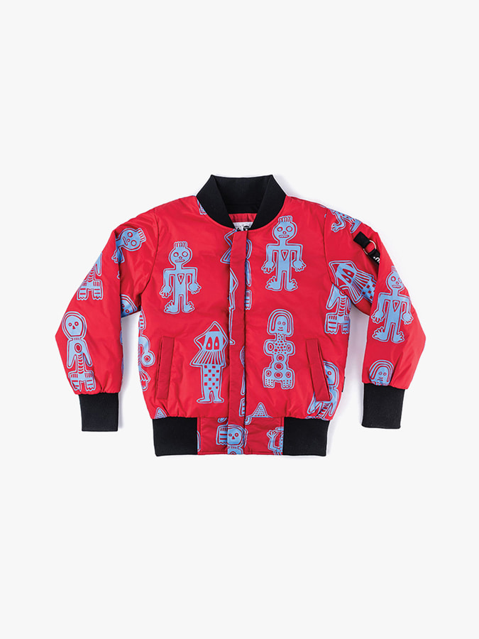 ALL OVER TRIBAL DANCERS BOMBER JACKET (baby)