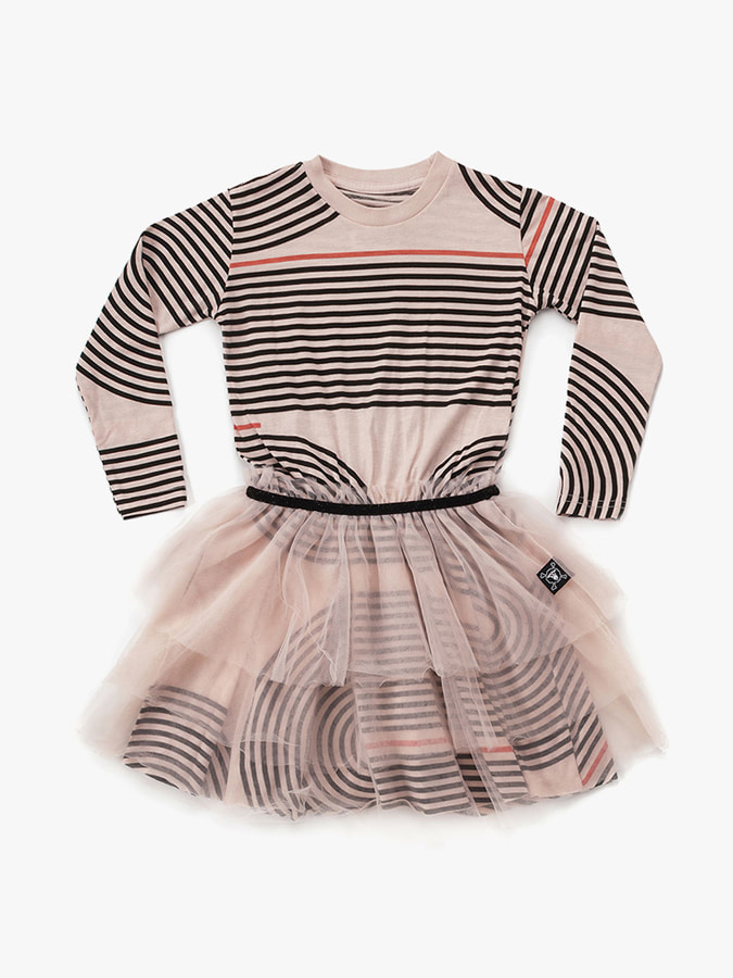 SPIRAL TULLE DRESS (kids) 30% sale