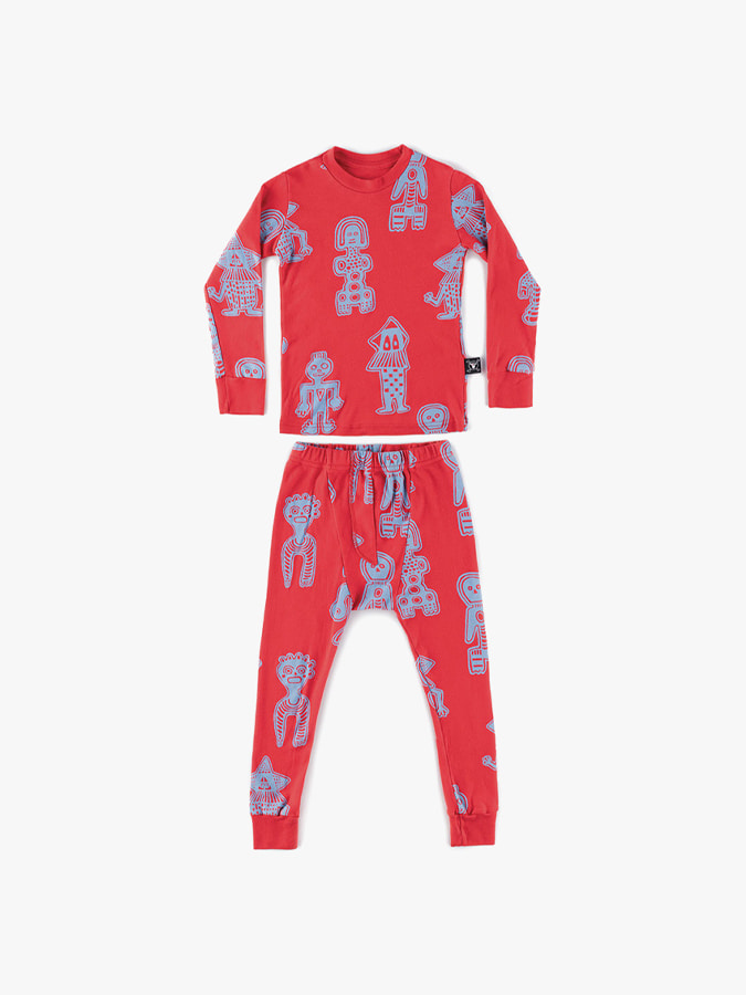 ALL OVER TRIBAL DANCERS LOUNGWEAR (baby)