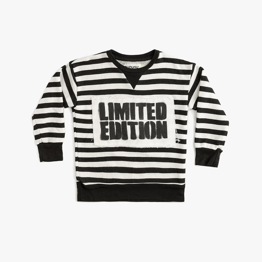 Limited edition striped sweatshirt (kids)