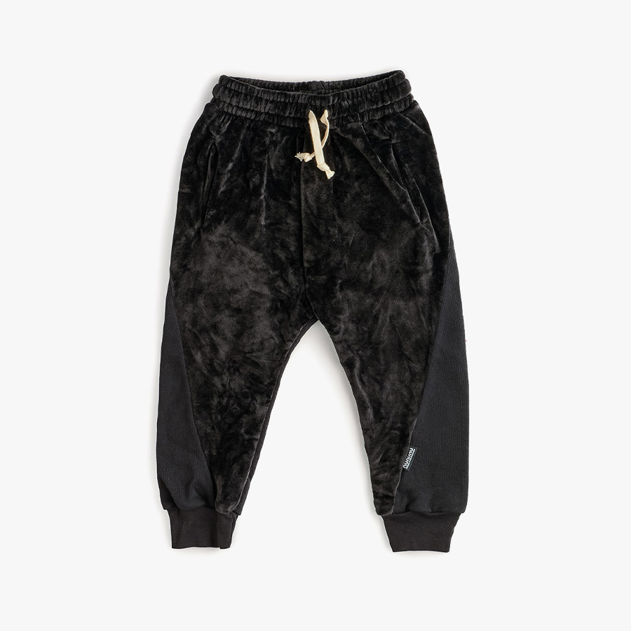 Mixed velvet sweatpants (baby)