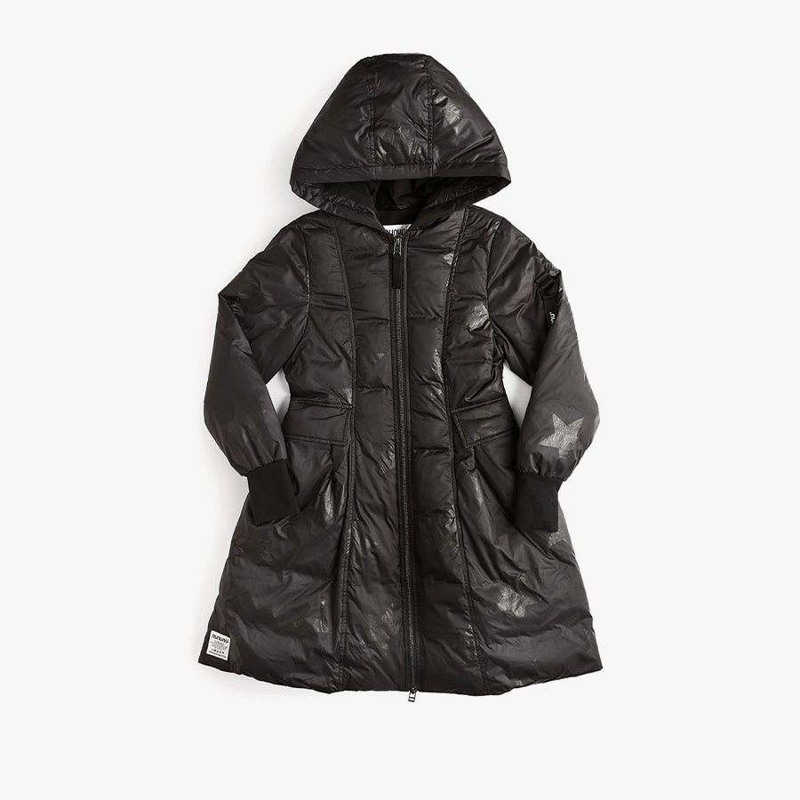 Fancy star down coat (kids)