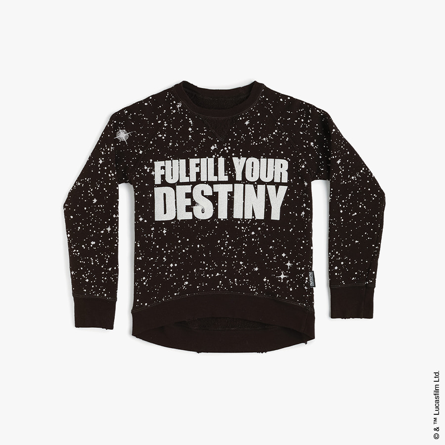 Galaxy sweatshirt (kids)