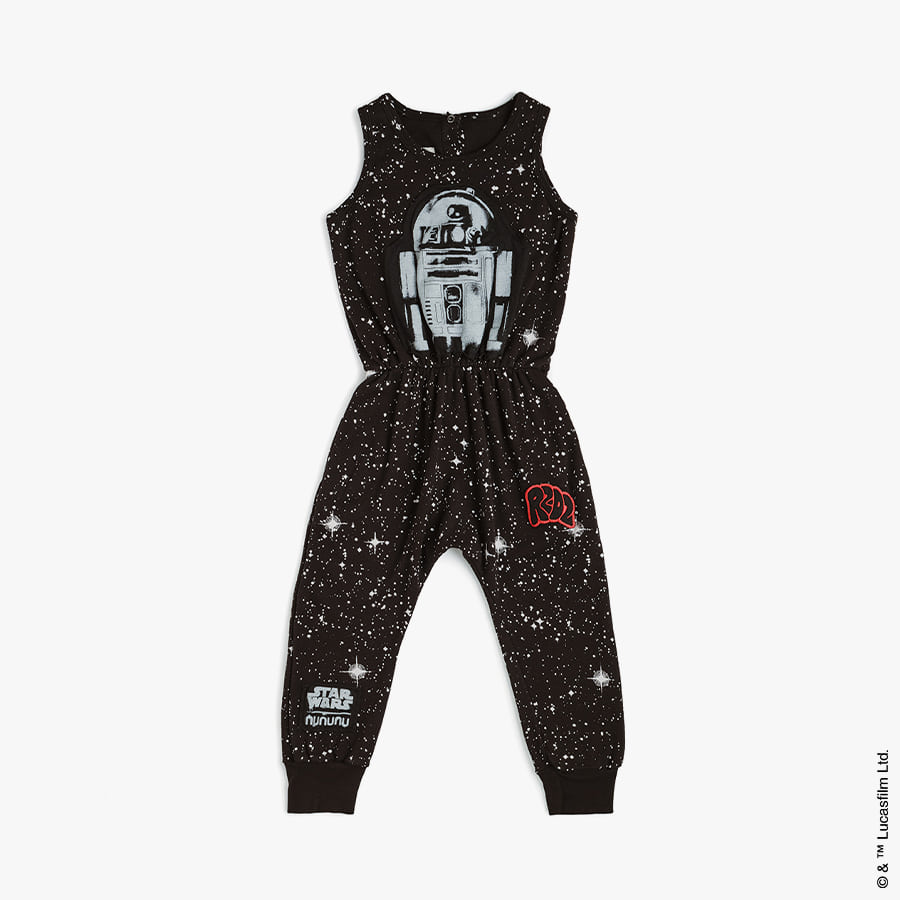 R2d2 galaxy romper (kids)