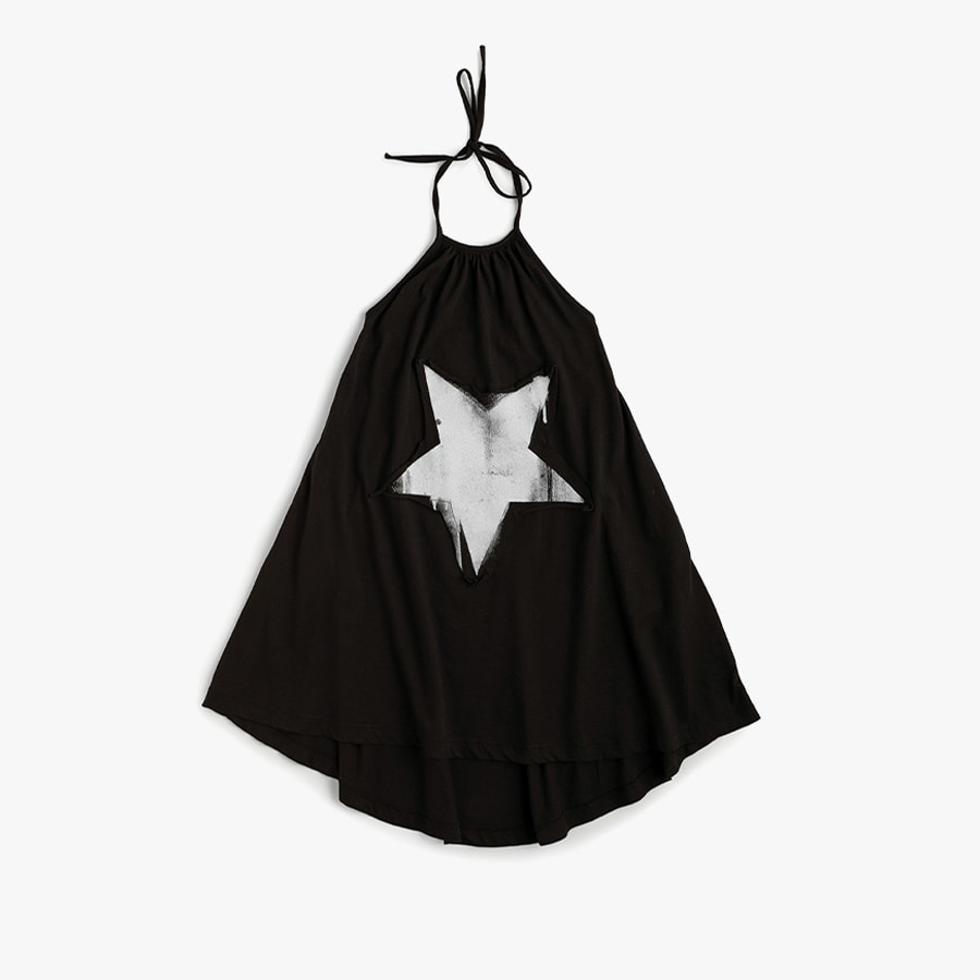 Falling star collar dress