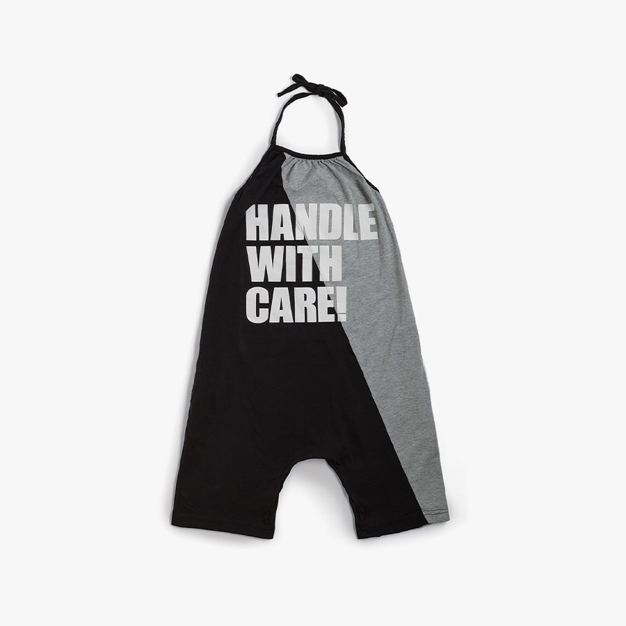 Handle w/care collar overall