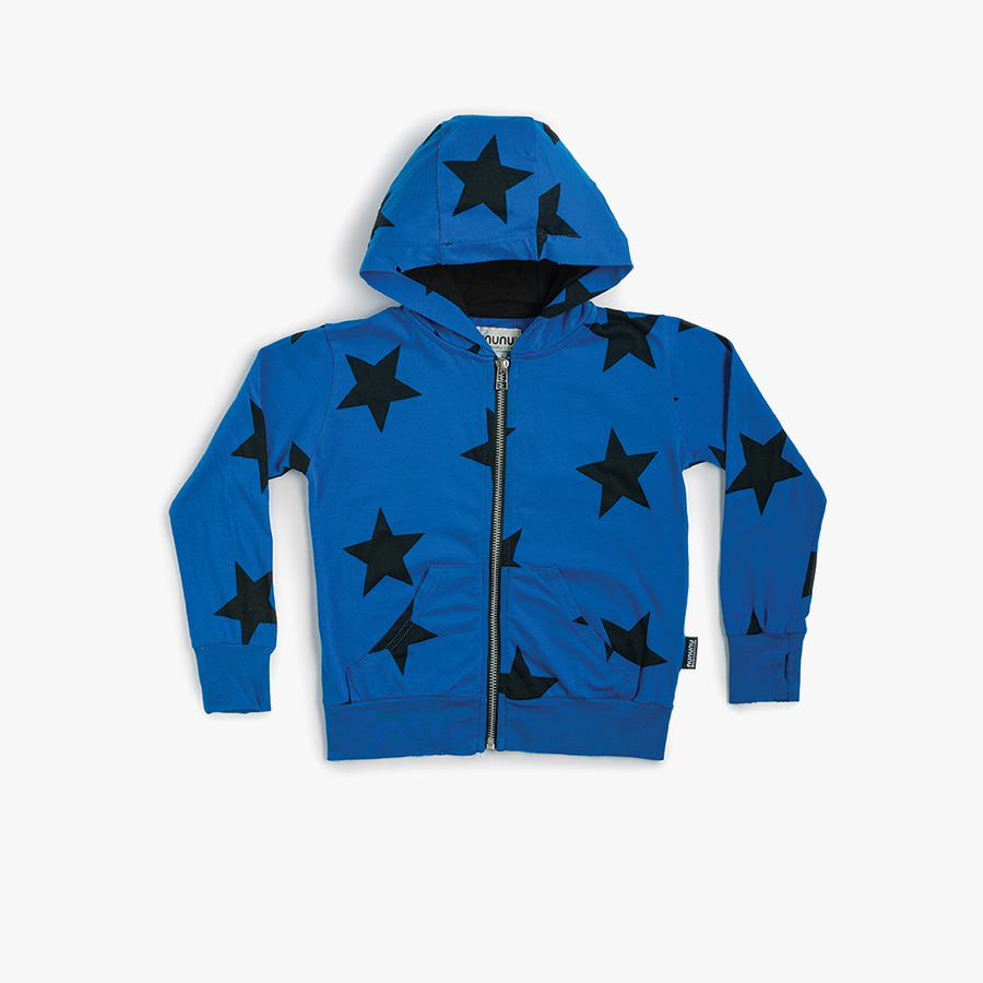 Star light zip hoodie