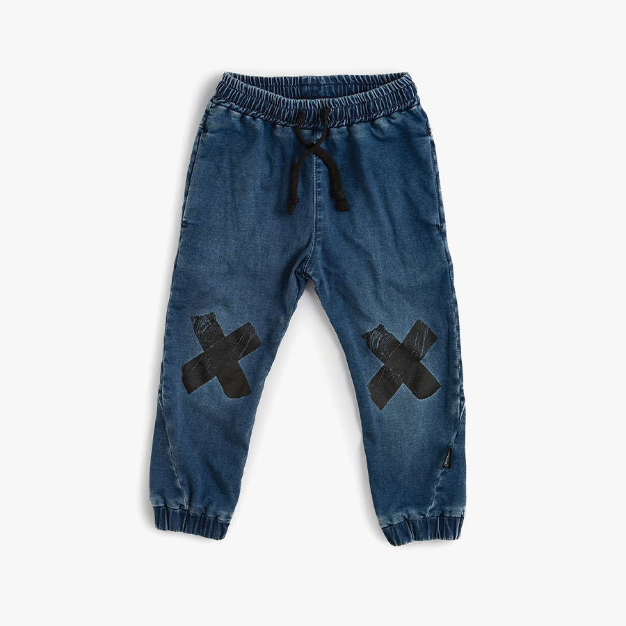 Double x denim pants